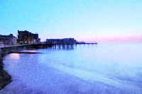 Calm Evening at Twilight Aberystwyth
