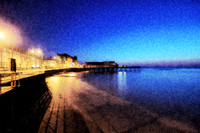 Early Evening at Aberystwyth