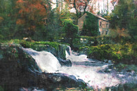 Mill at Cenarth Falls