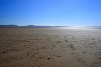Looking towards Gower from Cefn Sidan