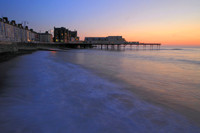 Twilight on the Pier at Aberystwyth